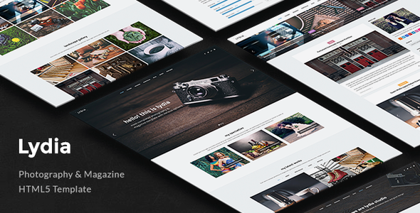 Photography   Lydia Photography Template for Photographers