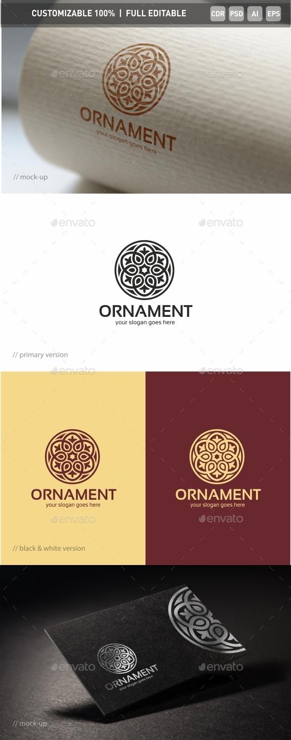 Ornament Logo Template