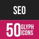 SeoThumbnail - SEO Glyph Inverted Icons