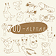 Zoo Alphabet in Vector - GraphicRiver Item for Sale