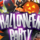 Halloween Party Flyer Template 3 - GraphicRiver Item for Sale