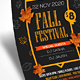Fall Festival Party Flyer  - GraphicRiver Item for Sale