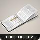 Landscape Book Mock-Up Set - GraphicRiver Item for Sale