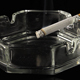 Smoking Tobacco Cigarette In An Ashtray - VideoHive Item for Sale