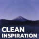 Clean Inspirations - VideoHive Item for Sale