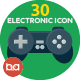 30 Electronics Icons - GraphicRiver Item for Sale