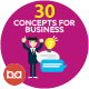 Flat Concepts for Business People - GraphicRiver Item for Sale