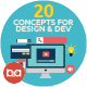 Flat Concepts for Design & Development - GraphicRiver Item for Sale