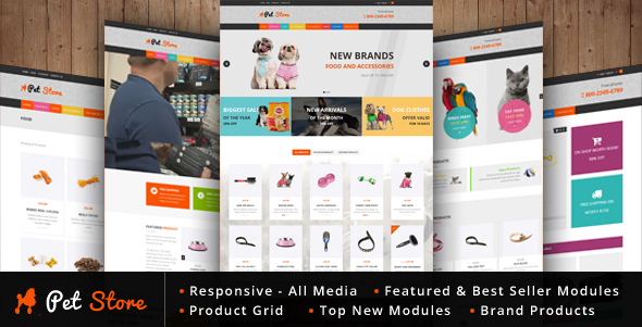 Pet Store - WordPress WooCommerce Theme