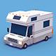 Camper Truck - 3DOcean Item for Sale