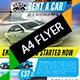 Rent a car Flyer - GraphicRiver Item for Sale