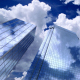 Skyscrapers Sky and Clouds - VideoHive Item for Sale