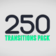 250 Transitions Pack - VideoHive Item for Sale