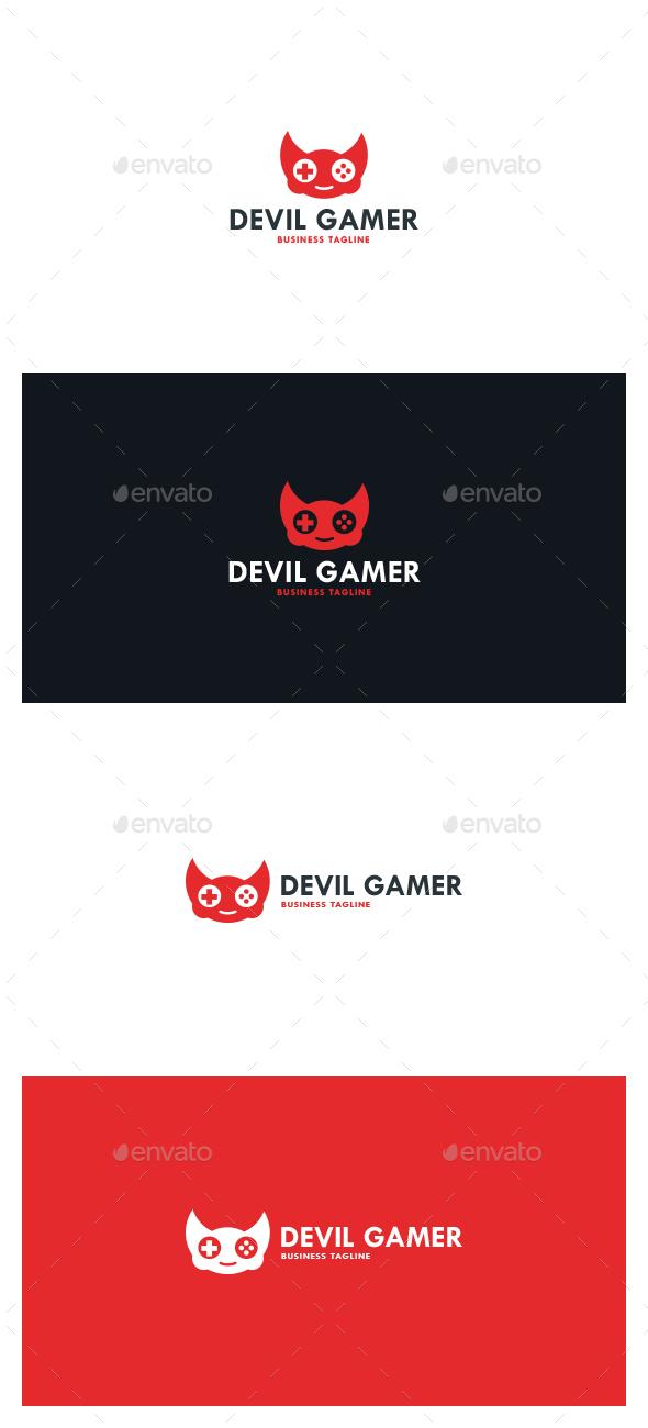 Devil Gamer Logo