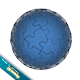 Cool 3D Jigsaw Ball - 3DOcean Item for Sale