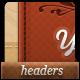 5 Unique Web Headers & Navigation Bars - GraphicRiver Item for Sale