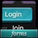 14 Unique Login Forms - GraphicRiver Item for Sale