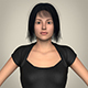 Realistic Beautiful Modern Woman - 3DOcean Item for Sale