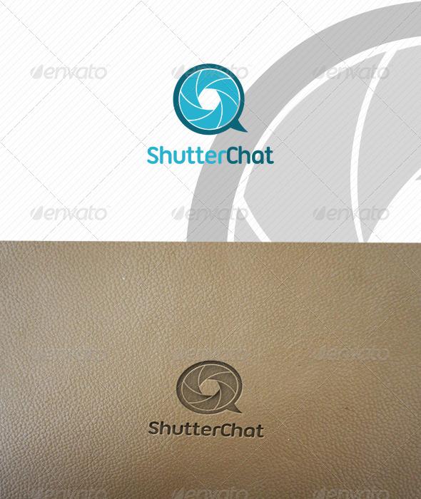 ShutterChat Logo Template