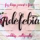 Adefebia Wedding Script Font - GraphicRiver Item for Sale
