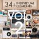 Branding Elements Vol 02 - GraphicRiver Item for Sale