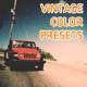 Vintage Film Color Presets - VideoHive Item for Sale