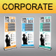Corporate Business Rollup Banner 26 - GraphicRiver Item for Sale