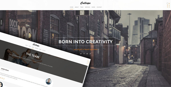Calliope - Portfolio & Agency WordPress Theme