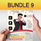 Creative Multipurpose Flyers Bundle 9 - GraphicRiver Item for Sale