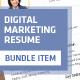 Marketer Resume - GraphicRiver Item for Sale
