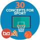 Flat Concepts for Sport & Awards - GraphicRiver Item for Sale