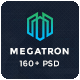 Megatron - Multipurpose PSD Template - ThemeForest Item for Sale