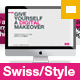 Swiss Style Google Slides Template - GraphicRiver Item for Sale