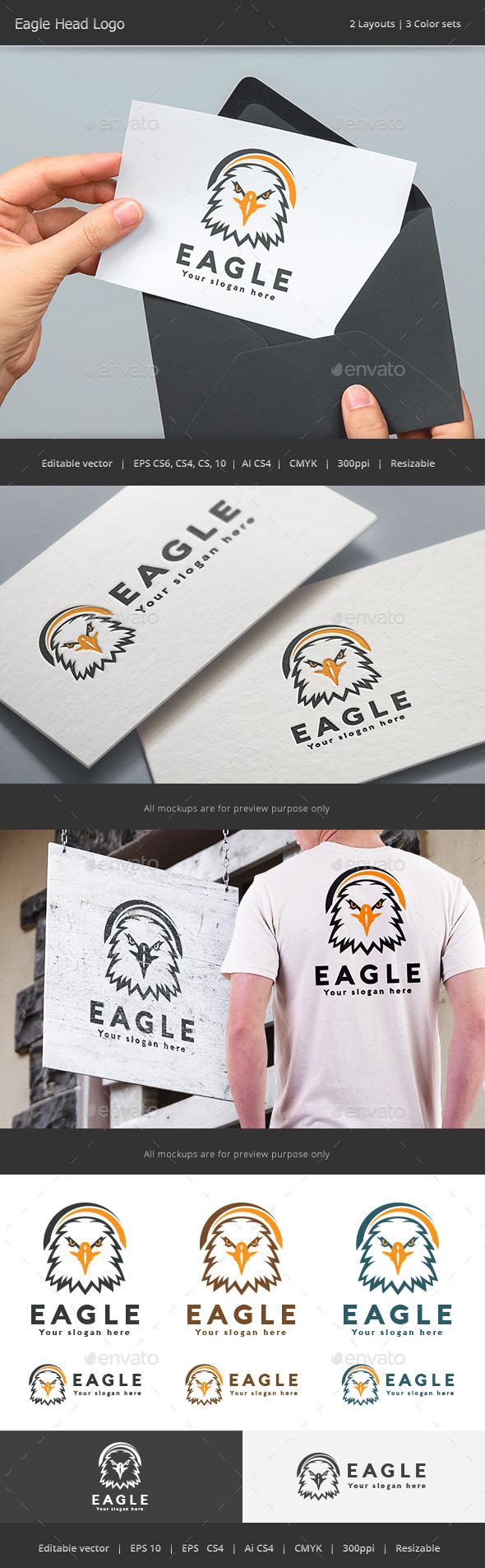 Eagle Head Logo