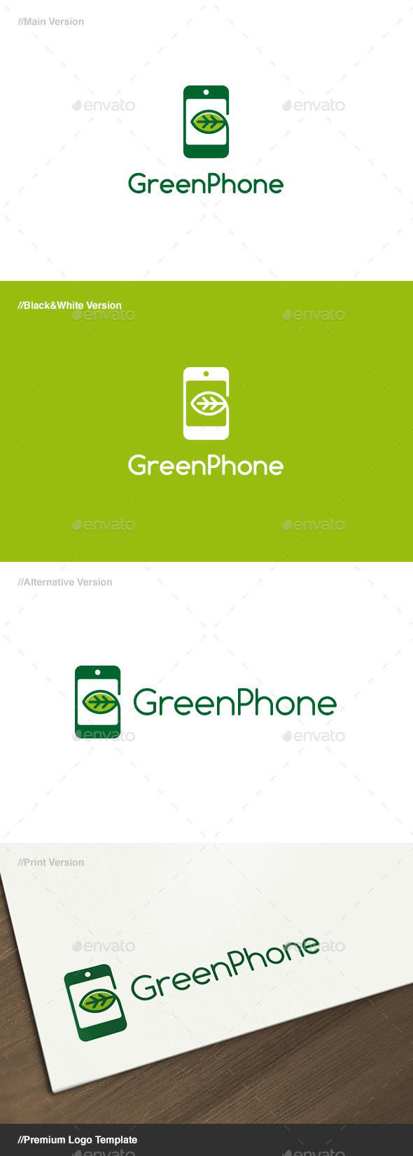 Green Phone Logo