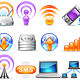 icon set n°7  - network theme - infinity series - GraphicRiver Item for Sale