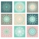 Decoration Set With Snowflakes Vector - GraphicRiver Item for Sale