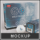 Golfballs Package Mock-up - GraphicRiver Item for Sale