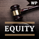 Equity - Lawyer and Attorney WordPress Theme - ThemeForest Item for Sale