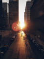 Chicago streets at sunset  - PhotoDune Item for Sale