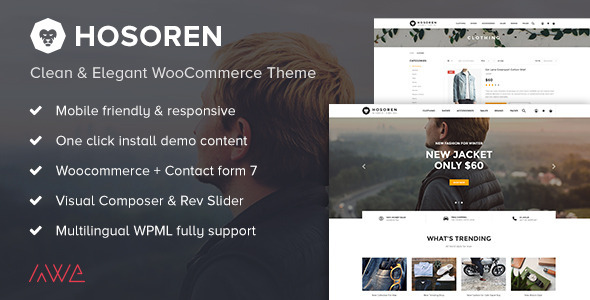 Review: Hosoren - Clean & Elegant WooCommerce Theme free download Review: Hosoren - Clean & Elegant WooCommerce Theme nulled Review: Hosoren - Clean & Elegant WooCommerce Theme