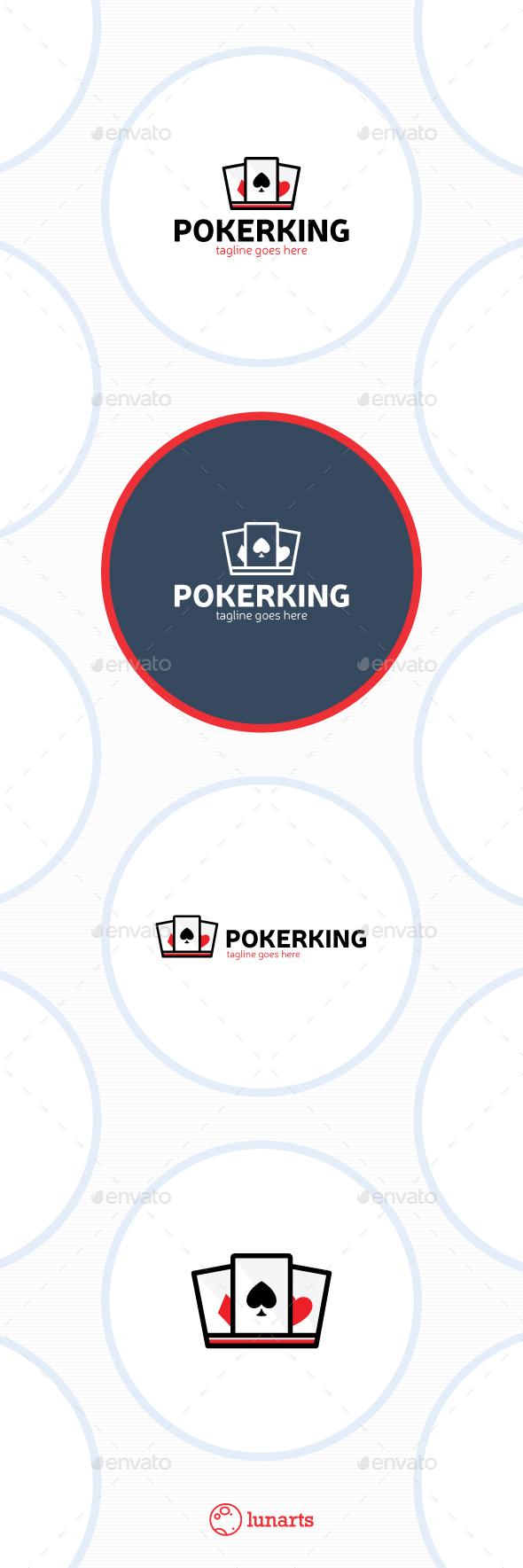 Poker King Logo - Casino
