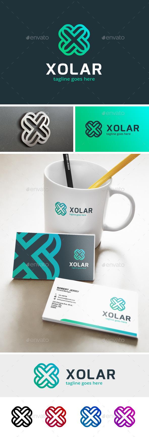 Xolar - Letter X Logo