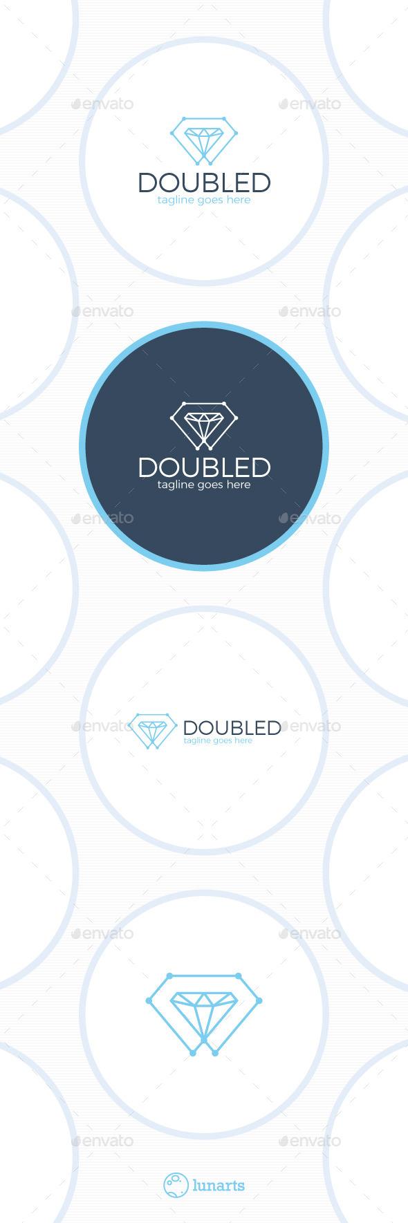 Double Diamond Tech Logo