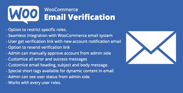 WooCommerce Email Verification Download