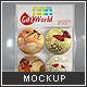 Magnets Set Mock-up - GraphicRiver Item for Sale