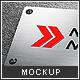 Metal Sign Mock-up - GraphicRiver Item for Sale