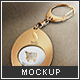 Trolley Coin Keyring Mock-up - GraphicRiver Item for Sale