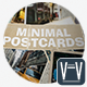 Minimal Postcards Stop Motion - VideoHive Item for Sale