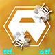 Honey Comb Font - GraphicRiver Item for Sale